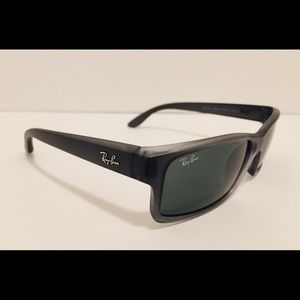 Ray Ban RB 4151 893/71 Glossy Gray Sunglasses NEW